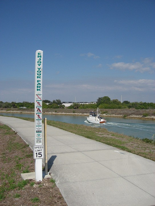 the Venetian Waterway Trail.