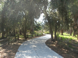 the Venetian Waterway Trail
