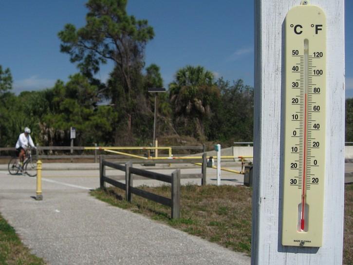 temperature in Florida