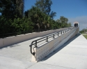 bicycle/pedestrian overpass over the Venice Bypas