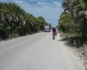 road from Caspersen Park beach