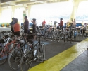 Bicycles on the ferry between Quebec City and Levis
