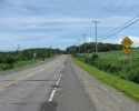 paved shoulder ion Highway 132.