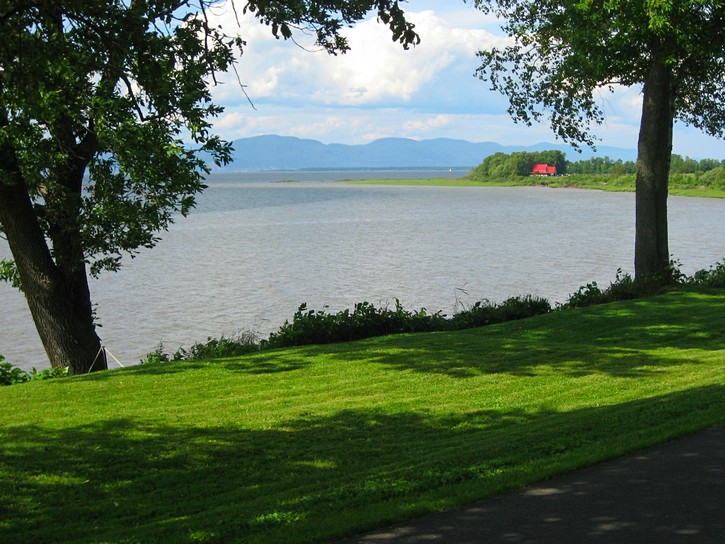 view of the St. Lawrence River