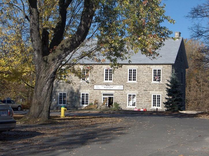 Watson's Mill in downtown Manotck.
