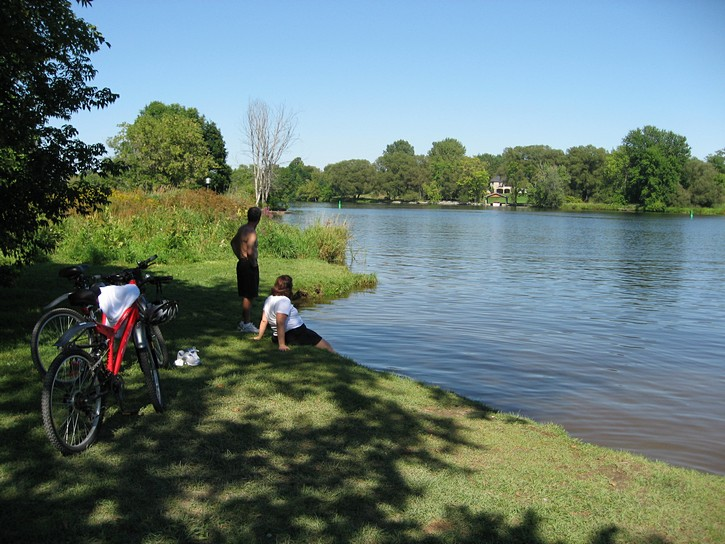 Jock River Landing park