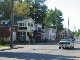 Manotick Main Street, downtown Manotick.