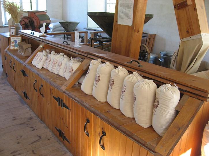 Inside Watson's Mill in Manotck.
