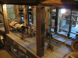 The basement of Watson's Mill