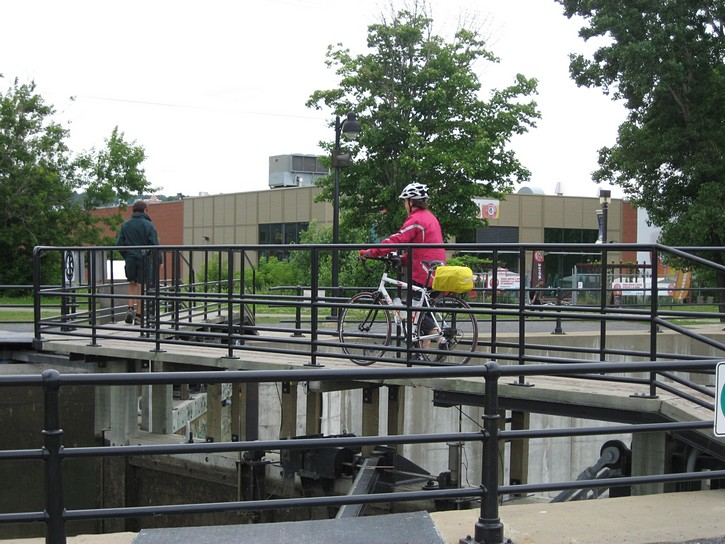 lock on the Lachine Canal