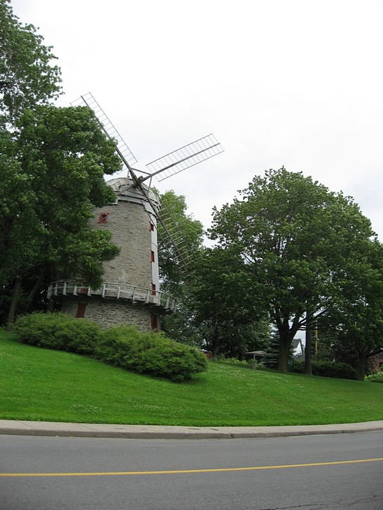 an old windmill in Montreal