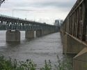 The Mercier Bridge in Montreal