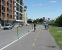 bicycle path in Montreal