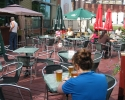 St-Ambroise brewery patio