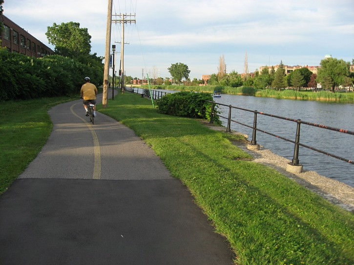 Lachine Canal bike path