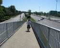 ramp down from Victoria Bridge