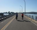 bridge to Montreal for cyclists