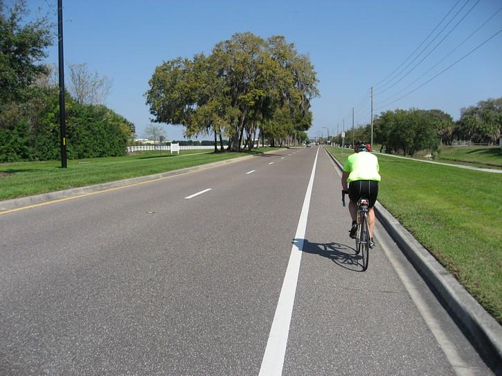 Heading north on McIntosh Road