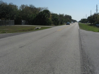 Clark Road east of the I-75