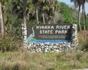 entrance to the Myakka River State Park