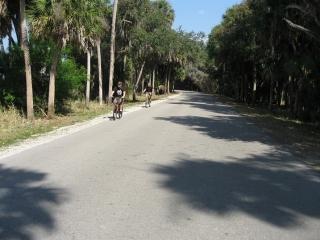 Cycling in Myakka State Park