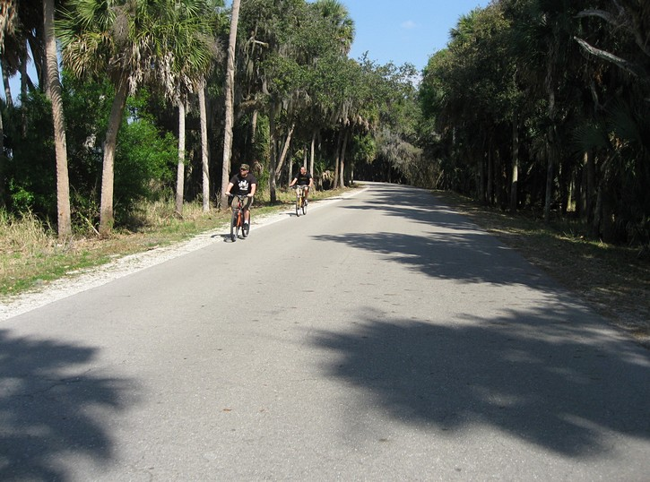 Cycling in Myakka State Park