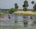 kids paddling out to Lake Myakka