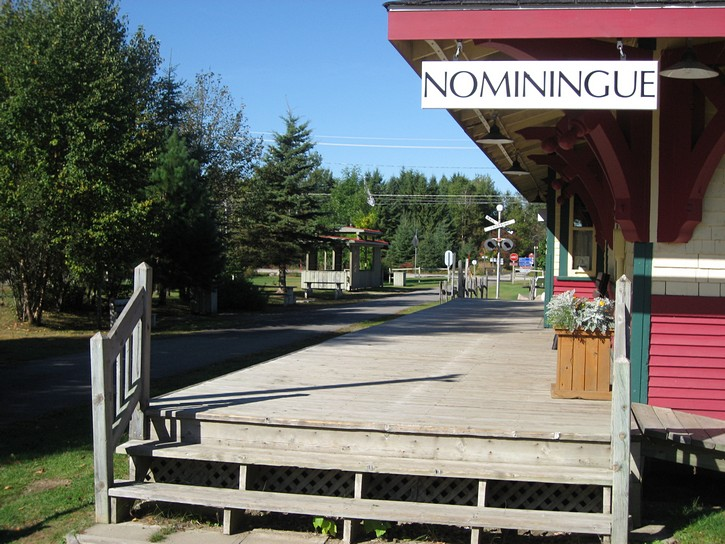 old train station in Nominingue