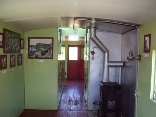small train museum in Labelle.