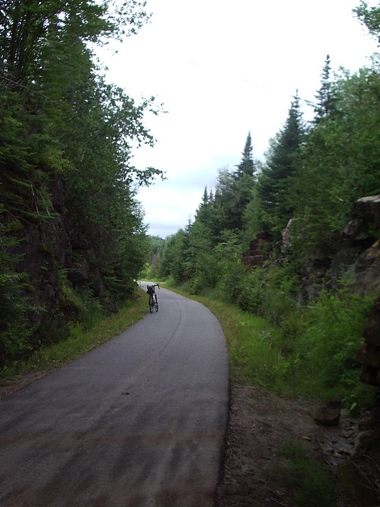 P'tit train du Nord trail