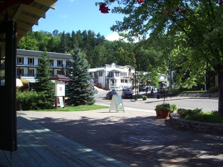old town of Mont Tremblant