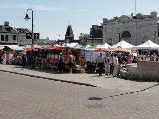 Kingston's farmers' market