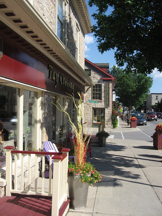Gore Street in downtown Perth, Ontario