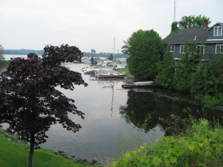 Westport waterfront