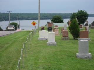 cemetery in near Westport