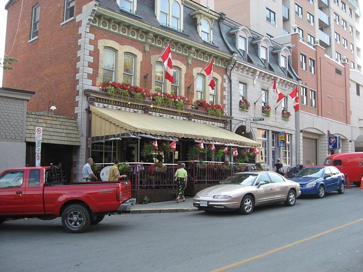 pub in downtown Kingston