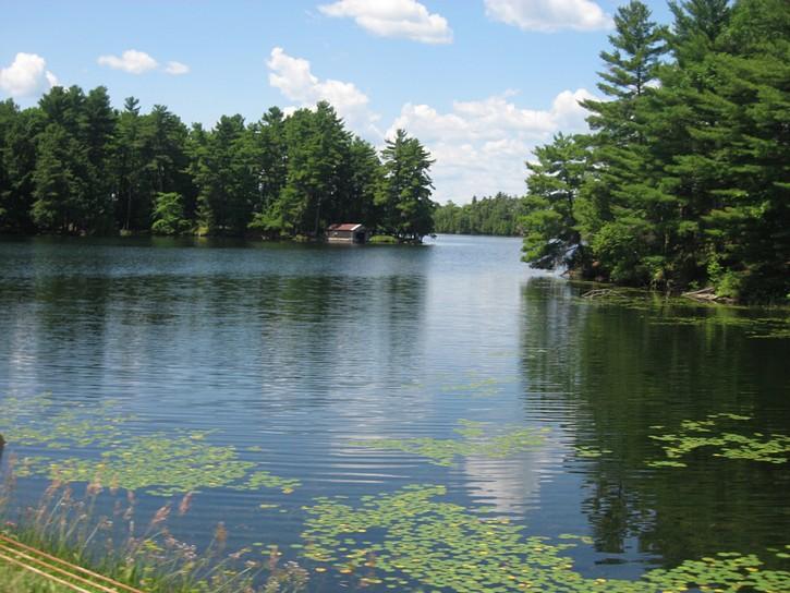 Rideau Lakes area along Regional Road 10