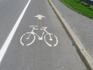 bike lane on March Road