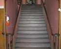 staircase in old manor house at Pinhey's Point.