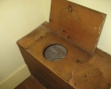 very old toilet