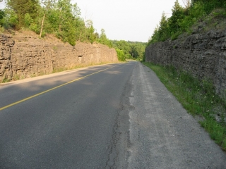 road #7 in Prince Edward County