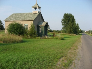 old school house in Prince Edward County