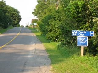 Taste Trail sign