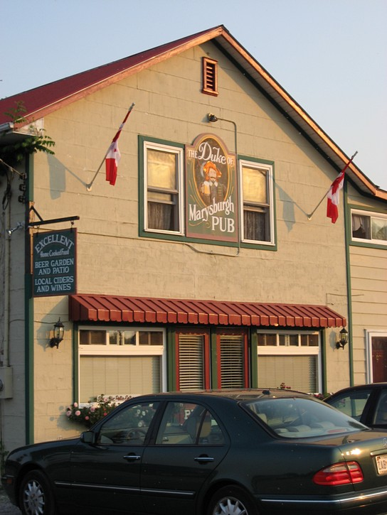 Duke of Marysburgh Pub in Waupoos