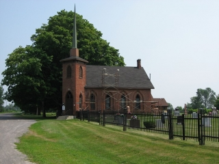 small church in Prince Edward County