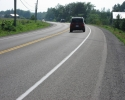 paved shoulder on Regional Road 33