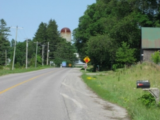 road in  Prince Edward County