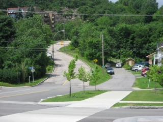 hill at Côte Ross, Quebec