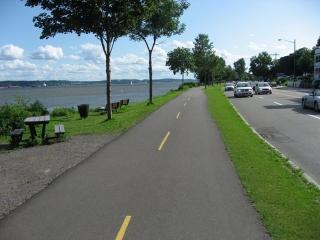 Corridor du Littoral bike path