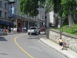 Cote de la Montagne hill, Quebec
